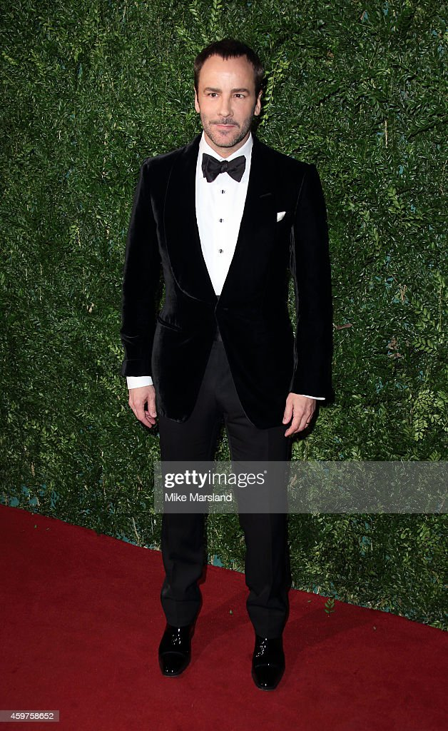 Tom Ford attends the 60th London Evening Standard Theatre Awards at London Palladium on November 30 2014 in London England