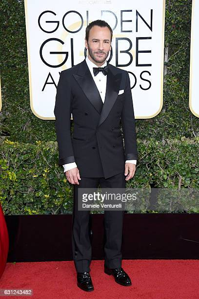 Tom Ford attends the 74th Annual Golden Globe Awards at The Beverly Hilton Hotel on January 8 2017 in Beverly Hills California
