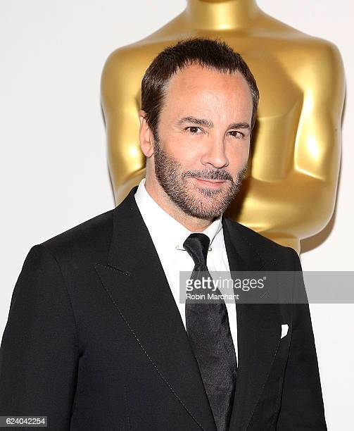 Tom Ford attends The Academy of Motion Picture Arts and Sciences Hosts an Official Academy Screening of NOCTURNAL ANIMALS at New York Public Library...