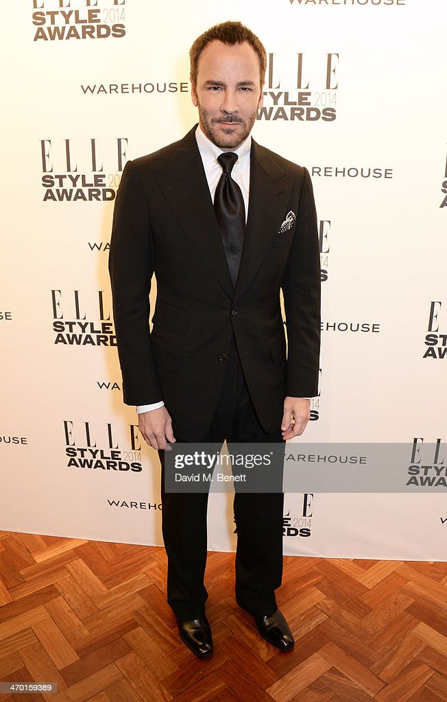 Tom Ford attends the Elle Style Awards 2014 at One Embankment on February 18, 2014 in London, England.