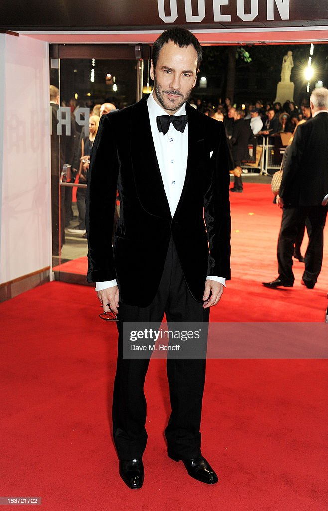<a gi-track='captionPersonalityLinkClicked' href=/galleries/search?phrase=Tom+Ford+-+Fashion+Designer&family=editorial&specificpeople=4280099 ng-click='$event.stopPropagation()'>Tom Ford</a> attends the European Premiere of 'Captain Phillips' on the opening night of the 57th BFI London Film Festival at Odeon Leicester Square on October 9, 2013 in London, England.