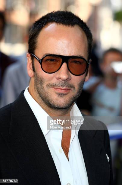Tom Ford attends the world premiere of 'Mamma Mia' the Movie at the Odeon Leicester Square on June 30 2008 in London