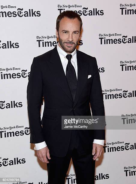 Tom Ford attends TimesTalks Featuring Tom Ford On 'Nocturnal Animals' at TheTimesCenter on November 18 2016 in New York City