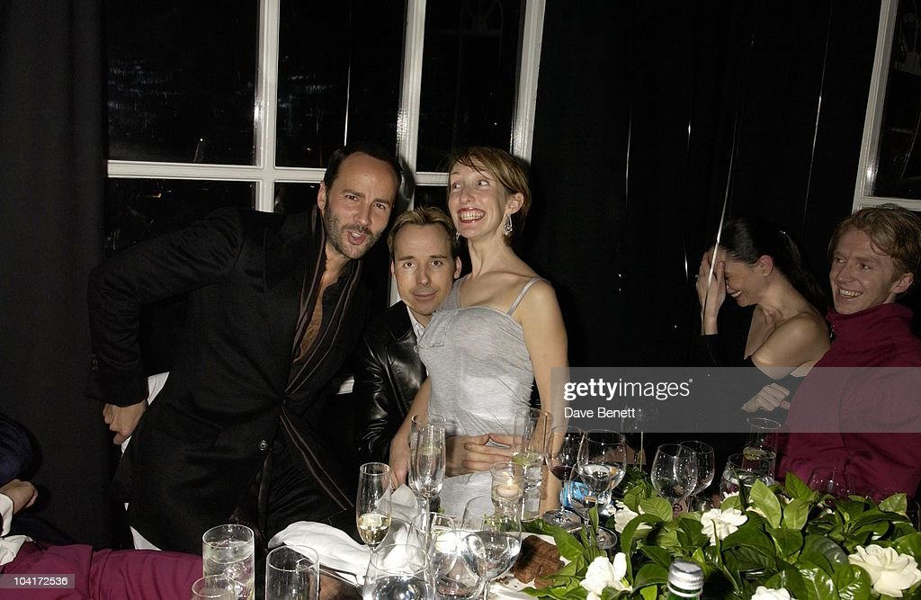 Tom Ford, David Furnish & Sam Taylor Wood, Valentino Party, At The Serpentine Gallery, London
