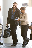 Tom Ford is seen at LAX on September 04 2015 in Los Angeles California