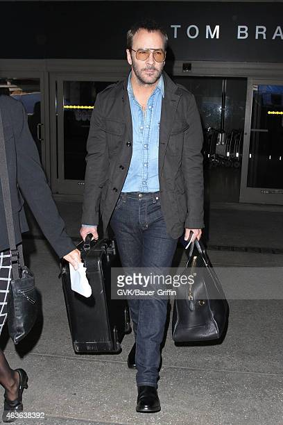 Tom Ford seen at LAX on February 16 2015 in Los Angeles California