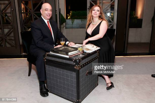 Tom Gass and Dr Dana York attend GQ And TOMMY HILFIGER Host A Haberdashery Event With Style Correspondent BRETT FAHLGREN at Tommy Hilfiger Store on...