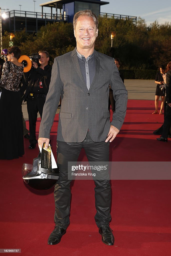 Tom Gerhardt attends the Deutscher Fernsehpreis 2013 - Red Carpet Arrivals at Coloneum on October 02, 2013 in Cologne, Germany.