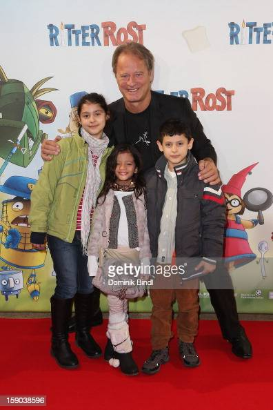Tom Gerhardt attends the Ritter Rost Premiere on January 6 2013 in Munich Germany