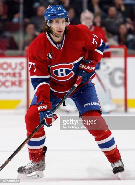 Tom Gilbert of the Montreal Canadiens plays in the game against the Los Angeles Kings at the Bell Centre on December 12 2014 in Montreal Quebec Canada