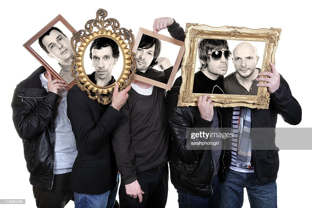 COVERAGE*** Tom Gladwin Rick Witter Alan Leach Paul Banks and Joe Johnson of Shed Seven pose for exclusive photo session on March 17 2011 in York...