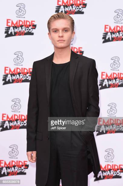Tom Glynn Carney attends the THREE Empire awards at The Roundhouse on March 19 2017 in London England