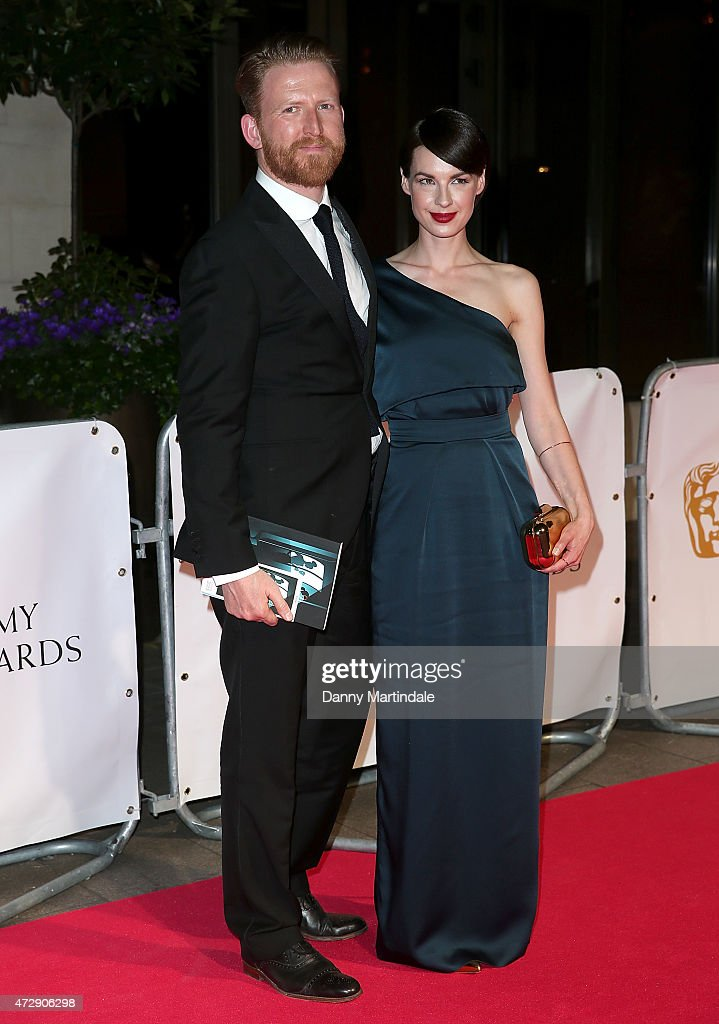 Tom Goodman-Hill and Jessica Raine attends the After Party dinner for the House of Fraser British Academy Television Awards at The Grosvenor House Hotel on May 10, 2015 in London, England.