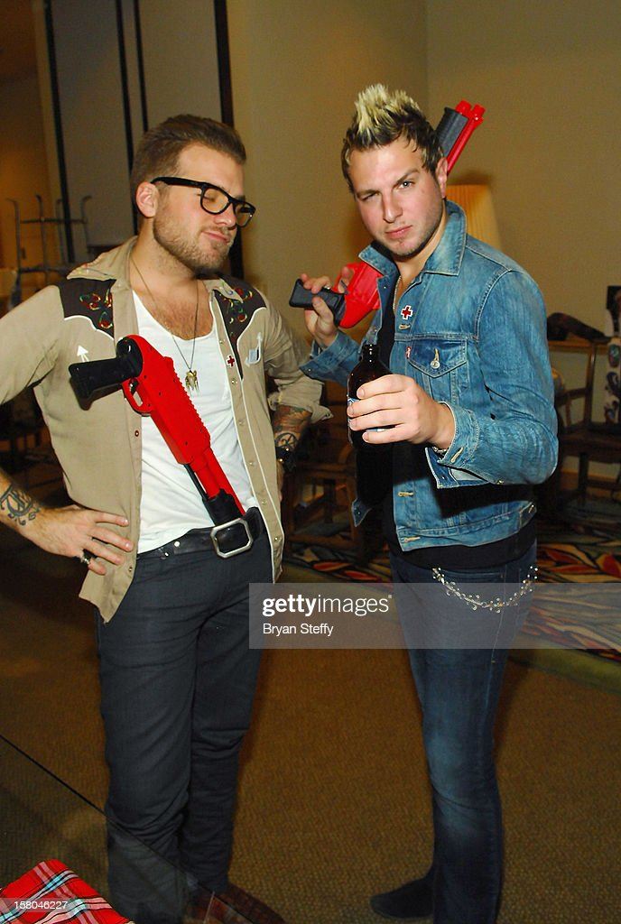 Tom Gossin and Mike Gossin of Gloriana attend the Backstage Creations Celebrity Retreat at the 2012 American Country Awards at the Mandalay Bay Events Center on December 9, 2012 in Las Vegas, Nevada.