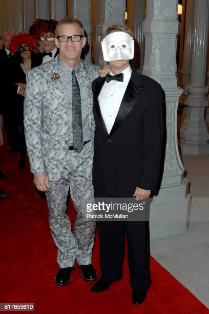 "Tom Gregory and David Bohnett attend LACMA Presents ""The UnMasking"" – The Lynda and Stewart Resnick Exhibition Pavilion Opening Gala Arrivals at Los..."