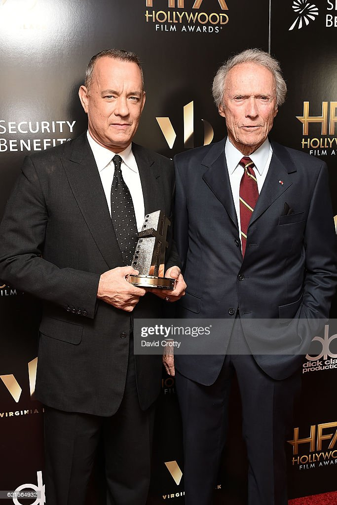 tom-hanks-and-clint-eastwood-attend-the-20th-annual-hollywood-film-picture-id621564932