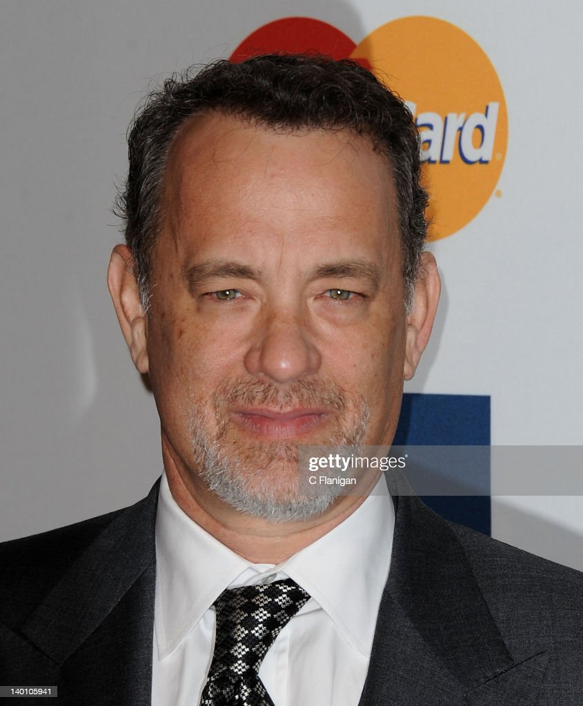 <a gi-track='captionPersonalityLinkClicked' href=/galleries/search?phrase=Tom+Hanks&family=editorial&specificpeople=201790 ng-click='$event.stopPropagation()'>Tom Hanks</a> arrives at Clive Davis and The Recording Academy's 2012 Salute To Industry Icons Gala at The Beverly Hilton hotel on February 11, 2012 in Beverly Hills, California.