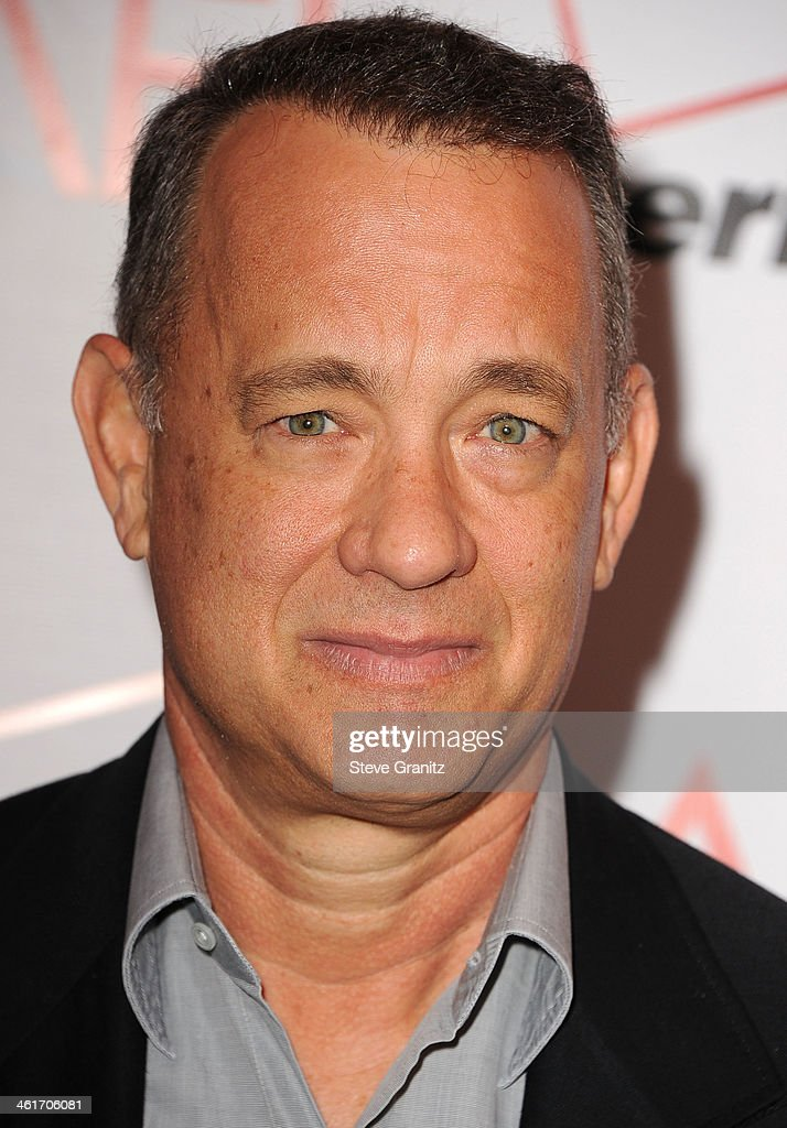 <a gi-track='captionPersonalityLinkClicked' href=/galleries/search?phrase=Tom+Hanks&family=editorial&specificpeople=201790 ng-click='$event.stopPropagation()'>Tom Hanks</a> arrives at the American Film Institute Awards Luncheon at Four Seasons Hotel Los Angeles at Beverly Hills on January 10, 2014 in Beverly Hills, California.