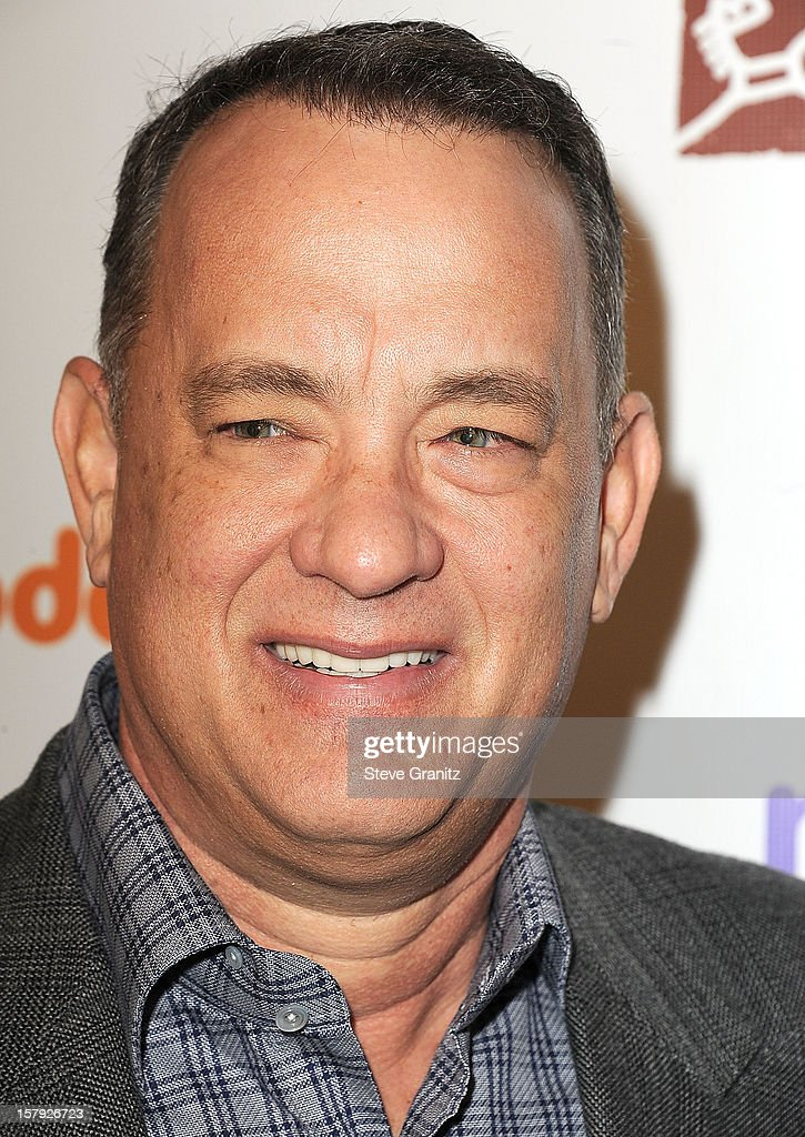 Tom Hanks arrives at the March Of Dimes' Celebration Of Babies at Beverly Hills Hotel on December 7, 2012 in Beverly Hills, California.