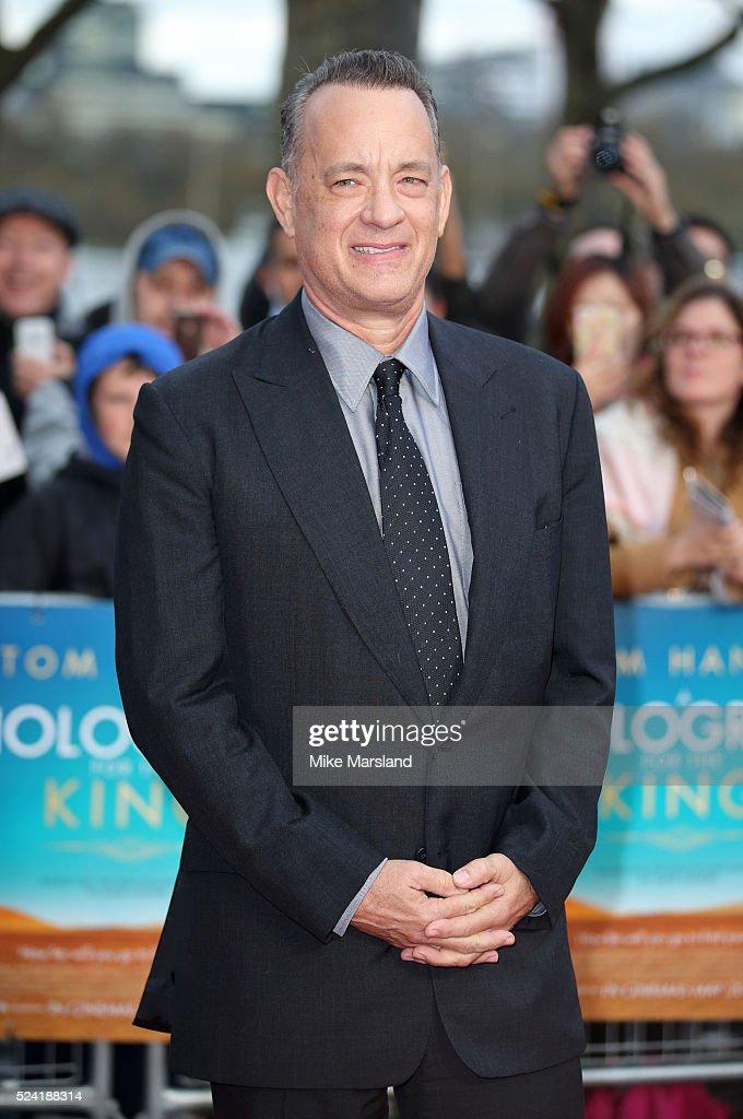"""A Hologram For The King"" - UK Film Premiere - Arrivals"