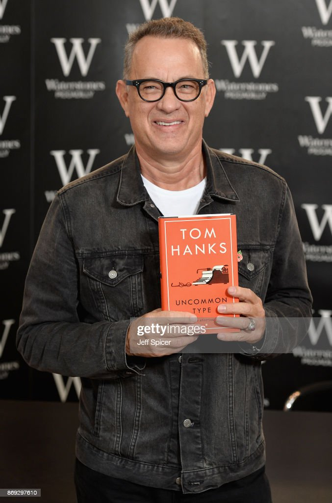 Tom Hanks Book Signing Photocall