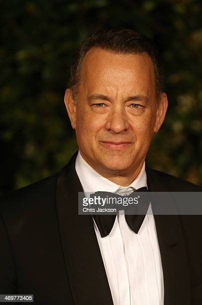 Tom Hanks attends an official dinner party after the EE British Academy Film Awards at The Grosvenor House Hotel on February 16 2014 in London England