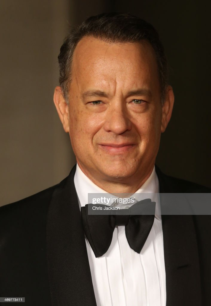 <a gi-track='captionPersonalityLinkClicked' href=/galleries/search?phrase=Tom+Hanks&family=editorial&specificpeople=201790 ng-click='$event.stopPropagation()'>Tom Hanks</a> attends an official dinner party after the EE British Academy Film Awards at The Grosvenor House Hotel on February 16, 2014 in London, England.