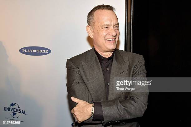 Tom Hanks attends 'My Big Fat Greek Wedding 2' New York Premiere at AMC Loews Lincoln Square 13 theater on March 15 2016 in New York City