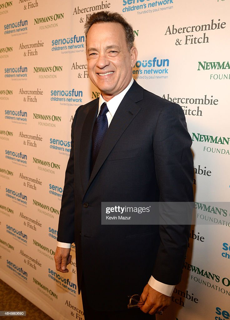 Tom Hanks attends SeriousFun Children's Network 2015 New York Gala: An Evening Of SeriousFun Celebrating the Legacy Of Paul Newman on March 2, 2015 in New York City.