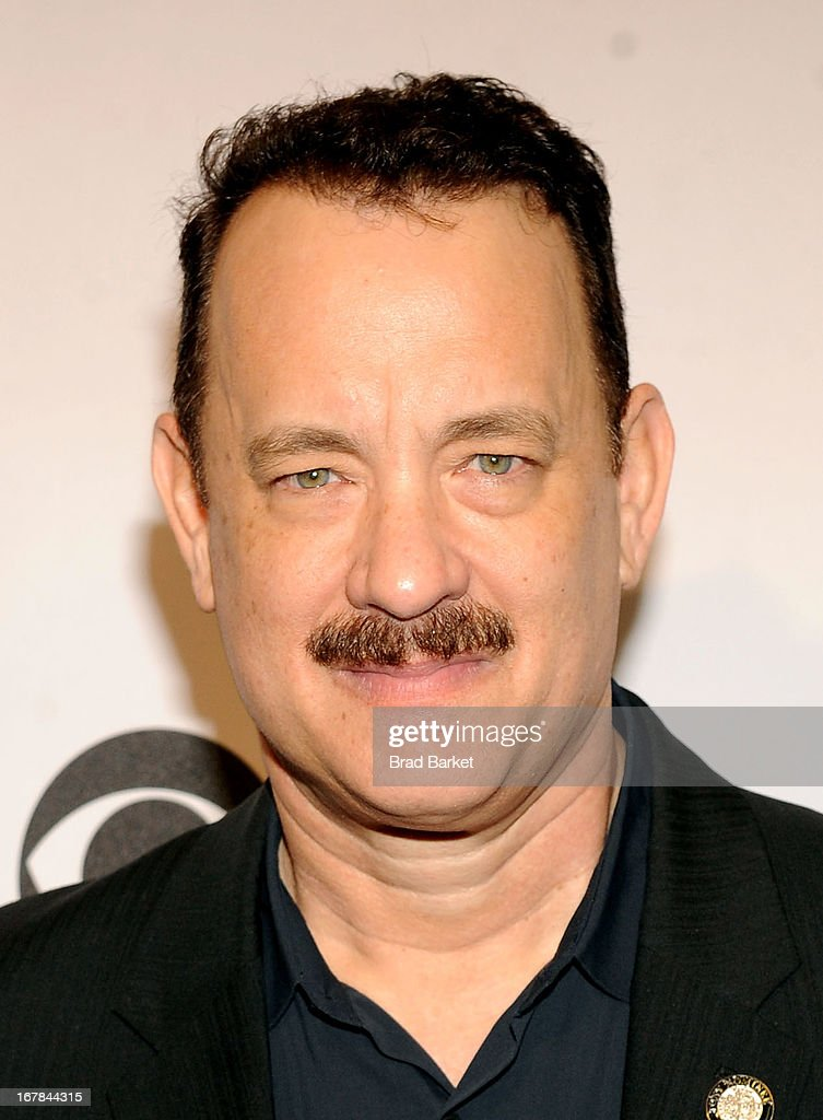 Tom Hanks attends the 2013 Tony Awards Meet The Nominees Press Reception on May 1, 2013 in New York City.