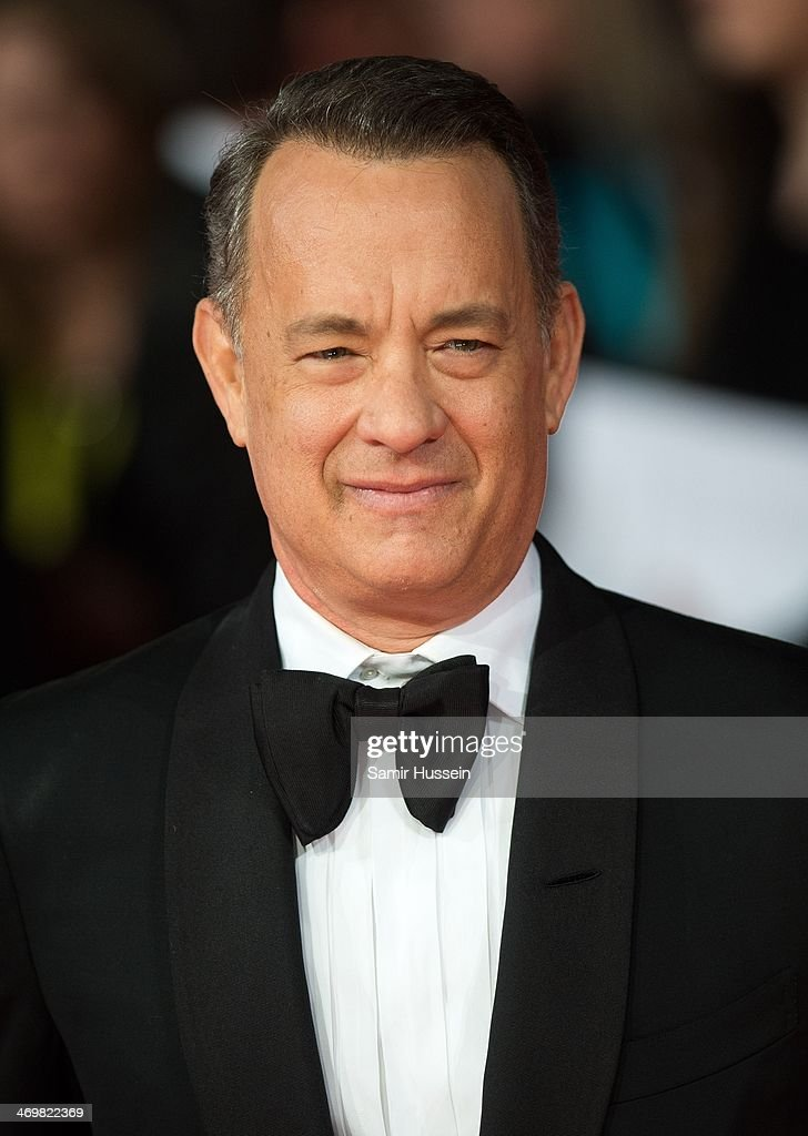 <a gi-track='captionPersonalityLinkClicked' href=/galleries/search?phrase=Tom+Hanks&family=editorial&specificpeople=201790 ng-click='$event.stopPropagation()'>Tom Hanks</a> attends the EE British Academy Film Awards 2014 at The Royal Opera House on February 16, 2014 in London, England.