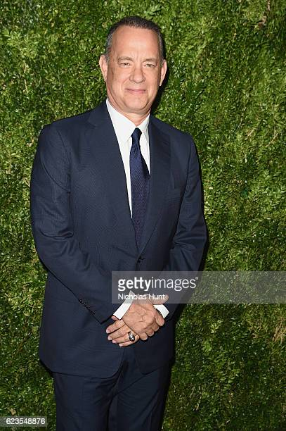 Tom Hanks attends the MoMA Film Benefit presented by CHANEL A Tribute To Tom Hanks at MOMA on November 15 2016 in New York City