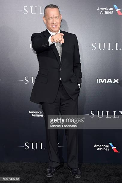 Tom Hanks attends the 'Sully' New York Premiere at Alice Tully Hall on September 6 2016 in New York City