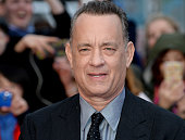 Tom Hanks attends the UK premiere of 'A Hologram For The King' at BFI Southbank on April 25 2016 in London England