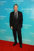 Tom Hanks attends the UK Premiere of 'A Hologram For The King' at the BFI Southbank on April 25 2016 in London England