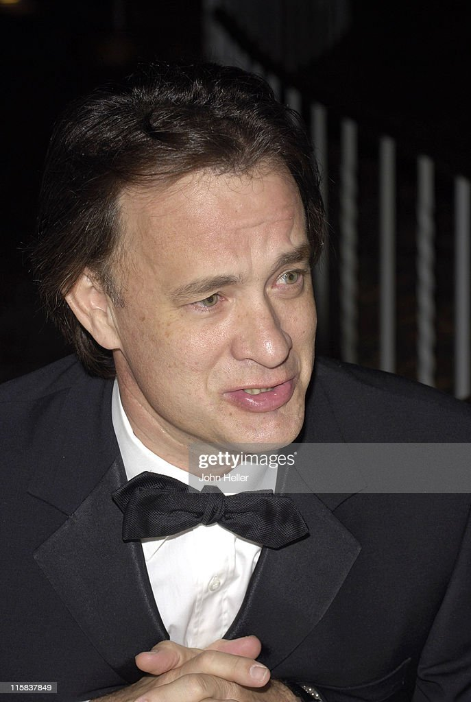 Tom Hanks during Saint John's Health Center Caritas Gala in Los Angeles California United States