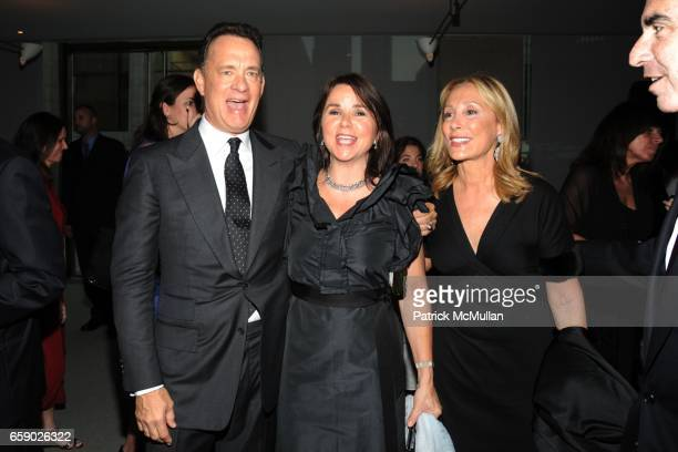 Tom Hanks Patty Smyth and Susan Hess attend THE FILM SOCIETY OF LINCOLN CENTER Gala Tribute to honor TOM HANKS at Alice Tully Hall on April 27 2009...