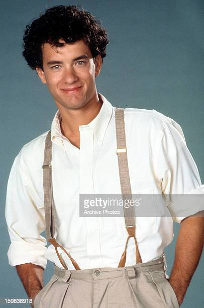 Tom Hanks publicity portrait for the film 'The Man With One Red Shoe' 1985