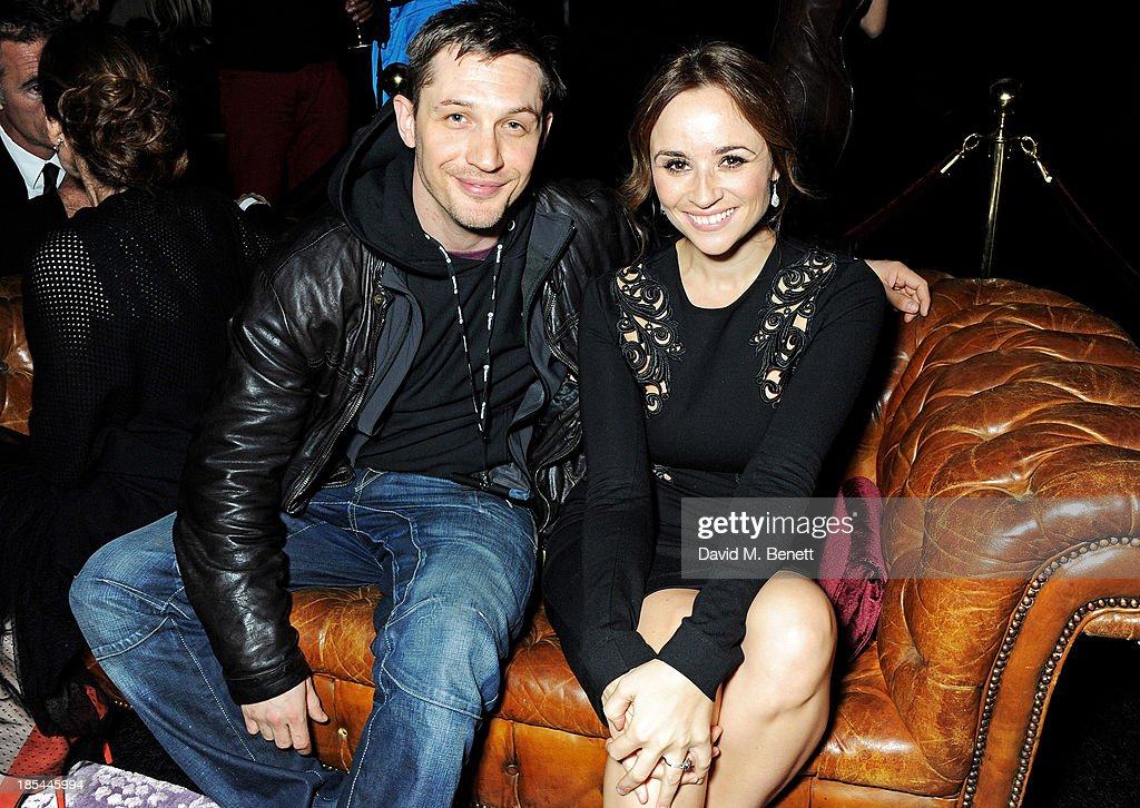 <a gi-track='captionPersonalityLinkClicked' href=/galleries/search?phrase=Tom+Hardy+-+Actor&family=editorial&specificpeople=2209780 ng-click='$event.stopPropagation()'>Tom Hardy</a> (L) and Emma Pierson attend an after party for the Closing Night Gala European Premiere of 'Saving Mr Banks' during the 57th BFI London Film Festival at The Old Billingsgate on October 20, 2013 in London, England.