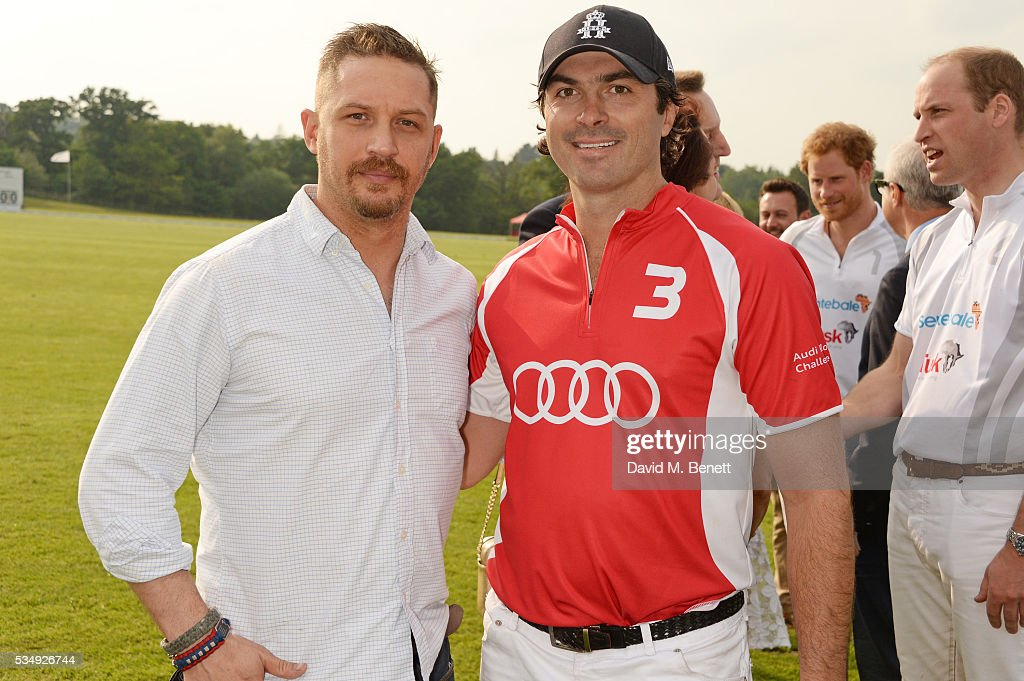 <a gi-track='captionPersonalityLinkClicked' href=/galleries/search?phrase=Tom+Hardy+-+Attore&family=editorial&specificpeople=2209780 ng-click='$event.stopPropagation()'>Tom Hardy</a> (L) and Freddie Mannix attend day one of the Audi Polo Challenge at Coworth Park on May 28, 2016 in London, England.