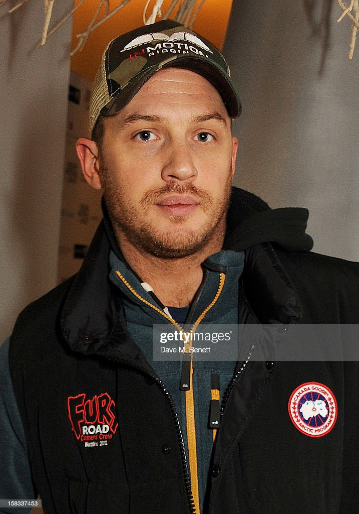 Tom Hardy attends the English National Ballet Christmas Party at St Martins Lane Hotel on December 13, 2012 in London, England.