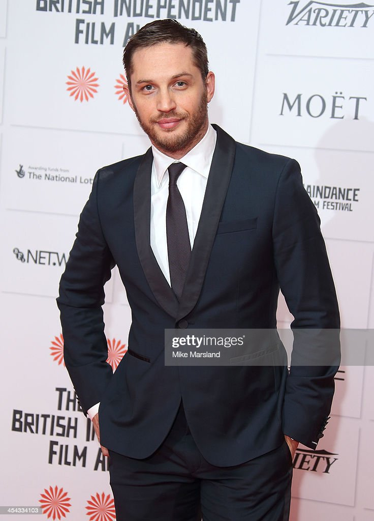 <a gi-track='captionPersonalityLinkClicked' href=/galleries/search?phrase=Tom+Hardy+-+Actor&family=editorial&specificpeople=2209780 ng-click='$event.stopPropagation()'>Tom Hardy</a> attends the Moet British Independent Film Awards at Old Billingsgate Market on December 8, 2013 in London, England.