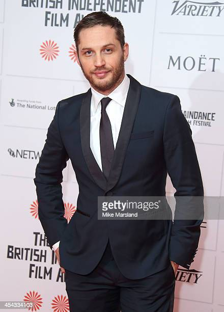 Tom Hardy attends the Moet British Independent Film Awards at Old Billingsgate Market on December 8 2013 in London England