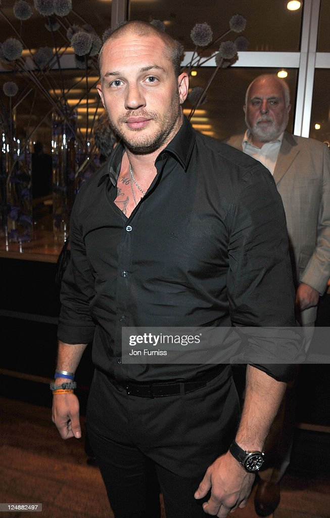 <a gi-track='captionPersonalityLinkClicked' href=/galleries/search?phrase=Tom+Hardy+-+Actor&family=editorial&specificpeople=2209780 ng-click='$event.stopPropagation()'>Tom Hardy</a> attends the ' Tinker, Tailor, Soldier, Spy' UK premiere after party on September 13, 2011 in London, England.