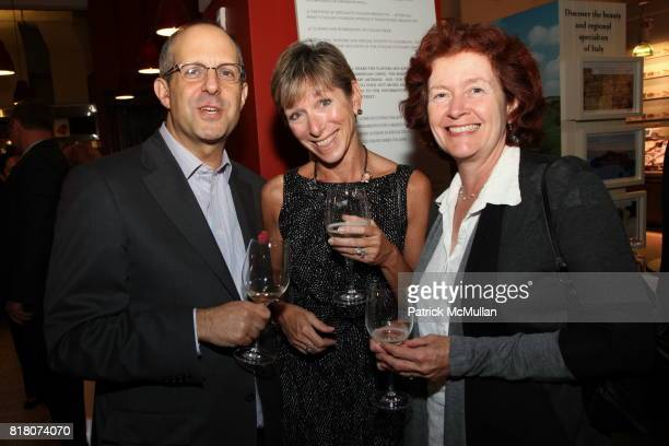 Tom Hartman Julie Micklowski and Heather Hamilton attend Epicurious 15th Anniversary Dinner at Eataly on September 29 2010 in New York