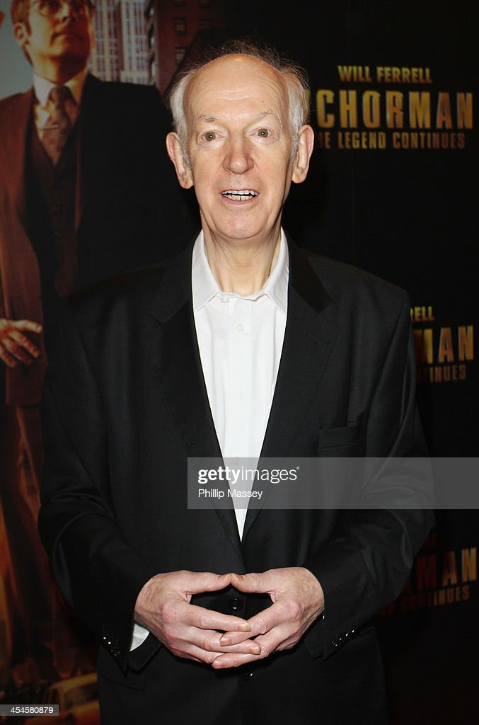 Tom Hickey attends the Irish premiere of 'Anchorman 2: The Legend Continues' on December 9, 2013 in Dublin, Ireland.