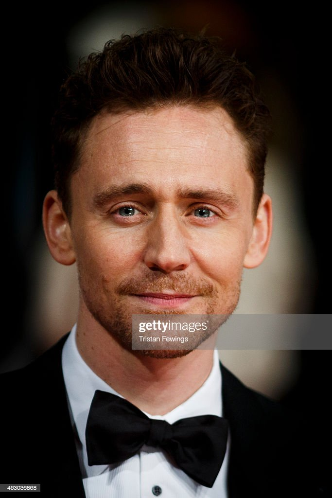 Tom Hiddleson attends the EE British Academy Film Awards at The Royal Opera House on February 8, 2015 in London, England.