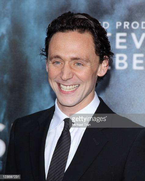 Tom Hiddleston arrives at the Los Angeles premiere of 'Super 8' held at Regency Village Theatre on June 8 2011 in Westwood California
