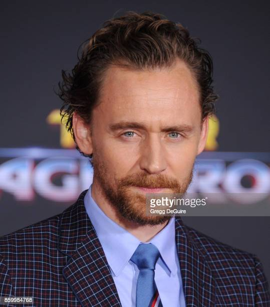 Tom Hiddleston arrives at the premiere of Disney and Marvel's 'Thor Ragnarok' at the El Capitan Theatre on October 10 2017 in Los Angeles California