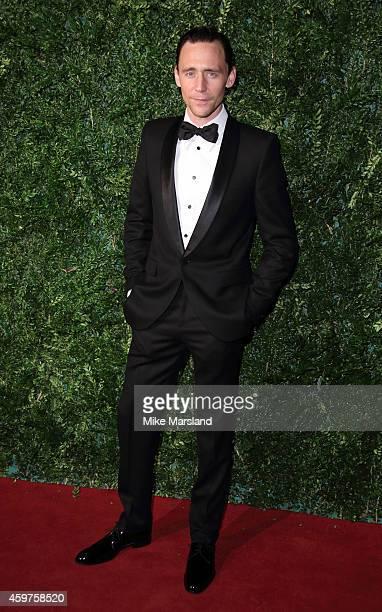 Tom Hiddleston attends the 60th London Evening Standard Theatre Awards at London Palladium on November 30 2014 in London England